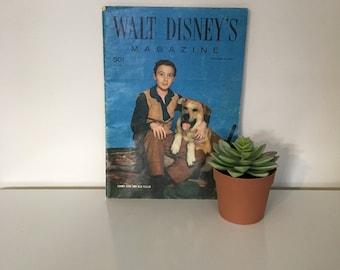 SALE // Walt Disney's Magazine - Old Yeller
