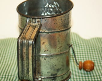 Vintage Good Cook Sifter, Flour Sifter, Kitchen Decor, Vintage Sifter
