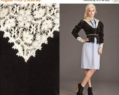 50% OFF ENTIRE STORE Vintage Rare Victorian 70s Gunne Sax Lace Velvet Jacket // Edwardian //
