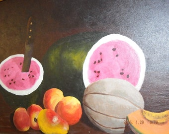 Jack Coleman Oil Painting 28 x 22