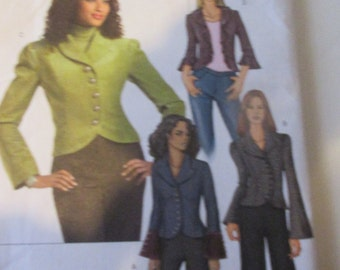 Misses Jacket  Butterick Pattern 4863  Sizes 16-22
