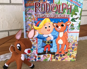 Rudolph's Look & Find