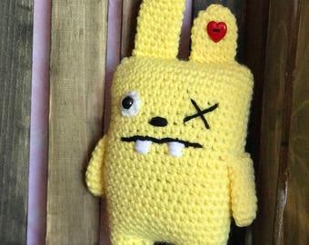 """Crochet """"Ugly"""" Bunny"""