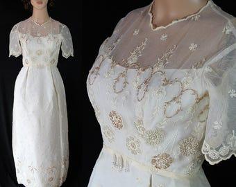 Victor Costa Pandora Wedding Dress Bridal Gown Beaded Train