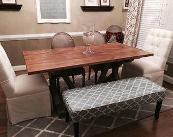 Restoration Hardware style Farm House table 6ft