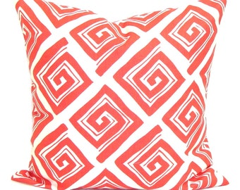 CORAL Pillow Sale, Coral Pillow Cover, Decorative Pillow, Coral Throw Pillow, Pillow, Accent Pillow, Pillow Cover, All Sizes, Euro, Cushion