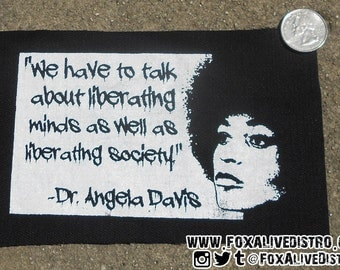 Dr. Angela Davis Patch