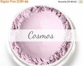 "On Sale - Stardust Highlighting Powder Sample - ""Cosmos"" (light lilac frosty highlighter, Net Wt .5g pot) - Vegan"