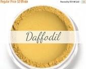 "On Sale - Eyeshadow Sample - ""Daffodil"" - Matte Yellow Vegan Mineral Eyeshadow Net Wt .4g Mineral Makeup Eye Color Pigment"
