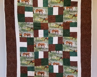 Horse and Equestian Quilt