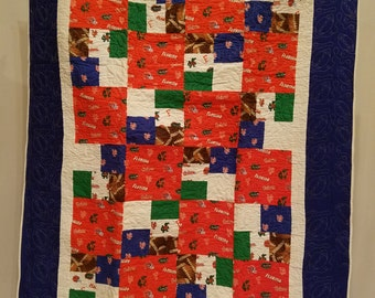 University of Florida Gator Quilt