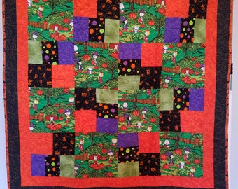 The Great Pumpkin Charlie Brown Quilt
