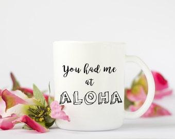 Aloha Coffee Mug, Funny Coffee Mug, Coffee Mug, Hawaii Coffee Mug, Birthday Gift, Wedding Gift, Grooms Gift, Summer Coffee Mug, Cute Mug