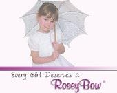 Custom Polka Dot Bows with Poinsettias