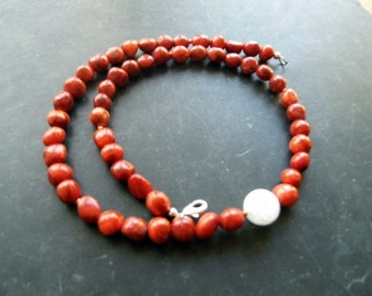 Chain coral, Crystal, jewelry, women, red,