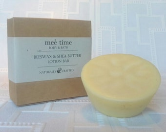 Beeswax & Shea Butter Lotion Bar