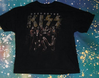 Kiss Destroyer Rock T-Shirt Size XXL