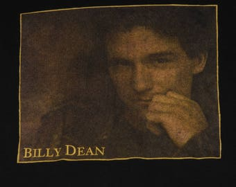 BILLY DEAN Country  Rock T-Shirt Size Xl