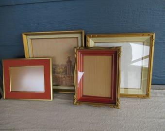 Wall Art Framed vintage framed art | etsy