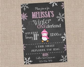 Winter Onederland-Girls first birthday-winter birthday-snowflake birthday-Winter Wonderland
