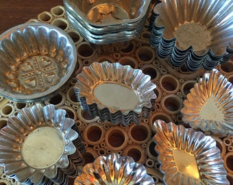 A collection of 67 lovely tart tins Sweden and Germany