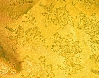 Brocade Jacquard Satin Mango 60 Inch Fabric by the Yard - 1 yard