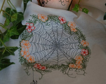 Web Of Life Embroidered Altar Cloth