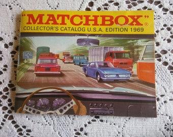 Matchbox Catalog Book 1969 - 1969 Matchbox Catalog - Matchbox Collectors Catalog 1969