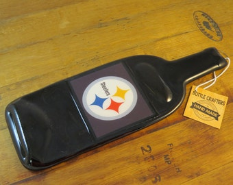 Pittsburgh Steelers Wine Bottle Wall Hanging