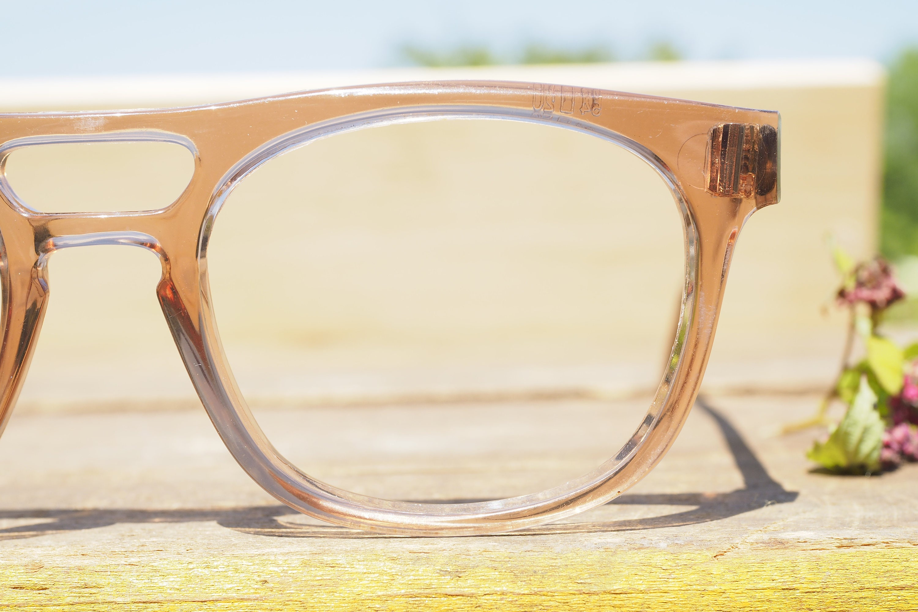 Vintage Eyeglass 1970\'s Safety Glasses Frames new Old Stock By ...