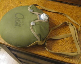 Camping Canteen , Scout Canteen , Canteen with Strap , Camping Equipment
