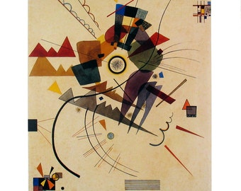 Wassily Kandinsky-All Around (No Text)-1992 Poster