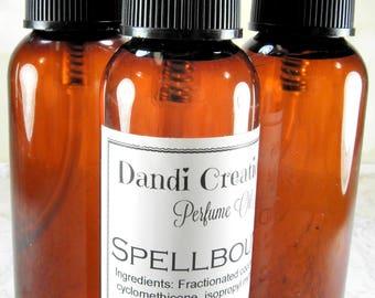 Spellbound perfume oil/perfume mist/body spray/body oil/body oil spray/romantic gift/gift for her/woman's gift/body fragrance/gift for women