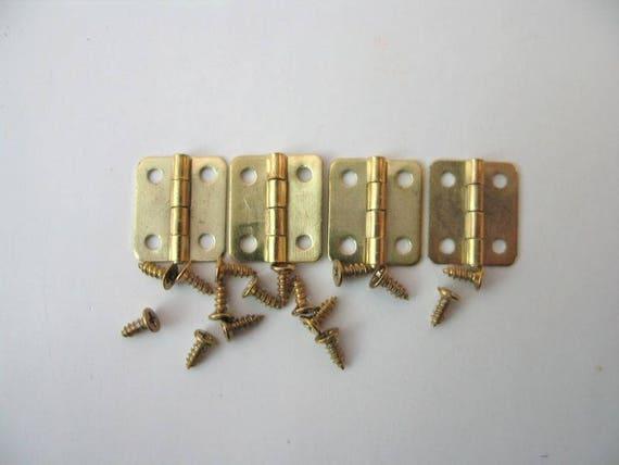 Schanier V22516 , für die Puppenstube, das Puppenhaus, Dollhouse Miniatures, Krippen, Miniaturen, Modellbau