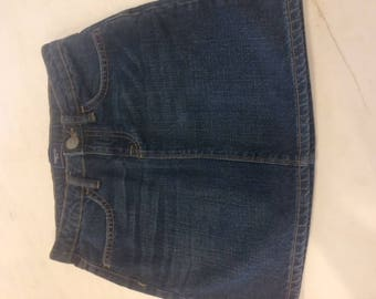 Gap Kids denim skirt size 10