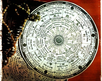 Cosmic Moon Calendar 2017 - New and Full Moon Astrology Wheel of the Year with Western Zodiac, Maya Tzolkin & 13 Moon Dreamspell all in one!