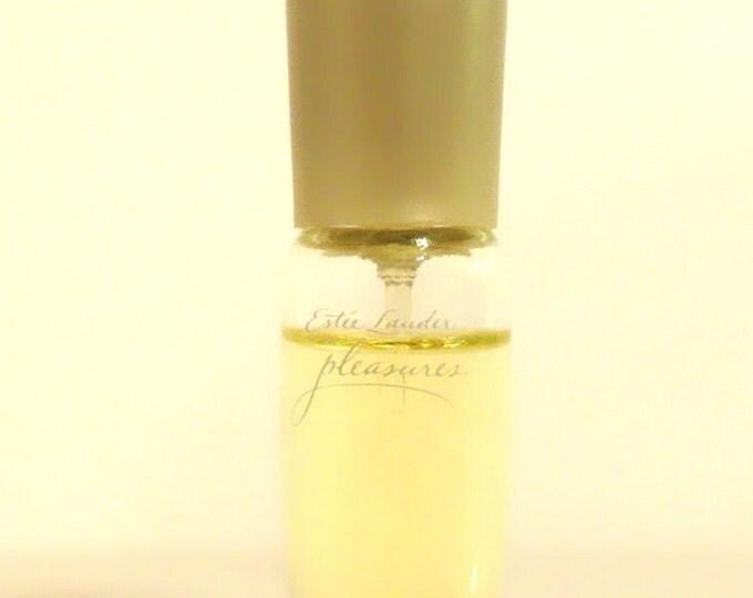 Vintage 1990s Pleasures by Estee Lauder 0.14 oz Eau de Parfum Spray Mini Miniature PERFUME