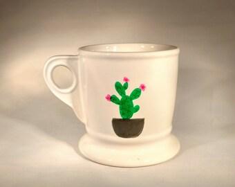 Cactus Mug - gift ideas, fun, unique, cactus, succulent, planter