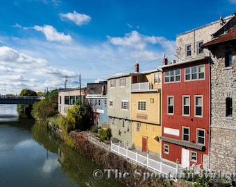Architecture Canal Landscape Wall Decor