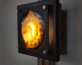 Modern Wall Sconce - The Geode