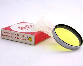 Leica E41 Yellow 1 Filter