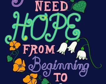 You Need Hope–Card