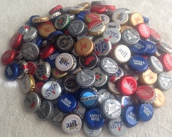 200 ~ Used Beer Caps ~ some dented