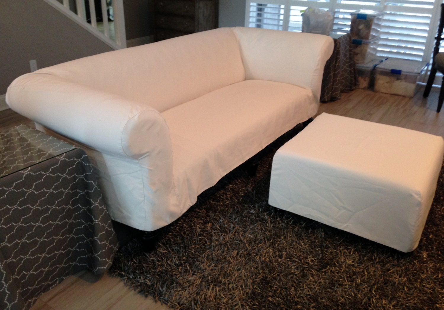Custom Sofa Slipcover No Cushions Re Design Your Sofa