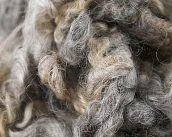 Leicester Longwool Locks, Washed, 2oz