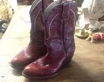 Vintage Lejanoeste Children's Cowboy Boots