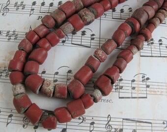 Venetian Greenheart Trade Beads
