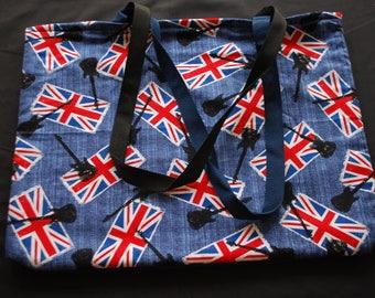 UK Rock n' Roll Tote Bag