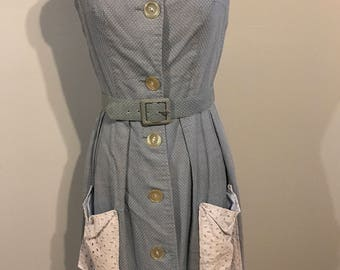 Super cute 1950 blue dress
