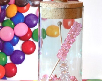 Light Pink Fake Rock Candy Christmas Ornament Decoration